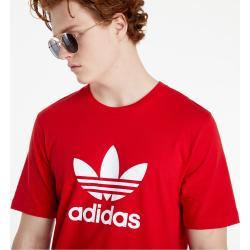 adidas Adicolor Classics Trefoil Tee Scarlet/ White