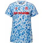 adidas Manchester United Human Race FC Trikot Damen L weiß / blau