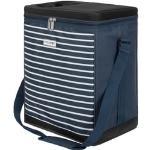 anndora Kühltasche 32 Liter navy blau weiß - Kühleinsatz -reisenthel carrycruiser kompatibel - blau-weiss gestreift