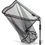 Arapaima Fishing Equipment® Teleskopkescher 'basic II' mit Metallgelenk   Angelkescher   Klappkescher - Anthrazit - 2,50m