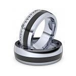 ASF Trauringe Partnerringe C010 Keramik - 7642