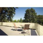 Balkonumrandung weizen 90 cm x 500 cm