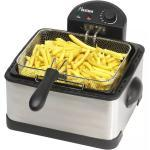 Bestron DF402B Extra große Fritteuse 2000 W mit 3 Frittierkörben