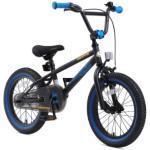bikestar Kinderfahrrad 16 BMX Schwarz Blau