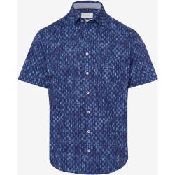 BRAX FEEL GOOD Herren Herrenhemd Style HARDY blue Gr. M