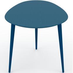 Couchtisch Blau - Eleganter Sofatisch: Beste Qualität, einzigartiges Design - 67 x 50 x 50 cm, Konfigurator