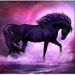 Diamond Painting - Black Horse