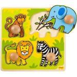 Einlegepuzzle aus Holz - Safari