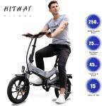 Elektrofahrrad, faltbares E-Bike Fahrrad für Erwachsene mit Abnehmbarer Batterie 16 Zoll Reifen 250W Motor Magnesiumlegierung Rahmen und 3 Geschwindigkeitsmodi, Hchstgeschwindigkeit 25 km/h