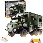 FADY Technik Bausteine Auto, Ferngesteuert LKW Truck Bauset Modell Kompatibel mit Lego Technic - 6689 Teile
