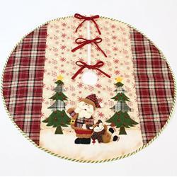 FRANK FLECHTWAREN Weihnachtsbaumdecke Santa Claus