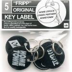 Fripp Orginal Key Label (Black)