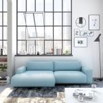 GALLERY M Loungesofa »Lucia Vorschlag 6« blau