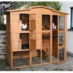 Hühnerhaus Westfalia - schnell und einfach aufgebaut