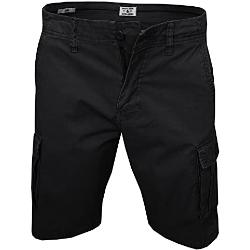 JACK & JONES Herren Zack Cargo Shorts, Black, M