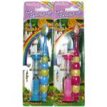 Kinder-Zahnbürste, mit Sanduhr, Inhalt: 1 Bürste - farbig sortiert
