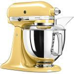 KITCHENAID Küchenmaschine Artisan 175 4,8l 300 Watt 5KSM175PSEMY (Pastellgelb) gelb