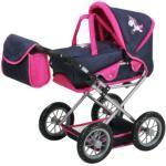 knorr® toys Puppenwagen Ruby - Uma das Einhorn, blau