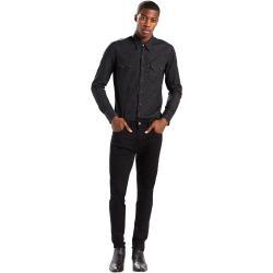 Levi's 512 Jeans Slim Tapered in schwarzem Nightshine