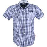 Marineblaue Kurzärmelige Lonsdale Rundhals-Auschnitt Herrenhemden London Größe 3 XL