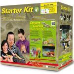 "Lucky Reptile Terrarium Starter Kit 50 cm ""Wüstengecko"" weiß"