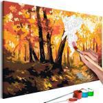 Malen nach Zahlen - Forest Track 60x40 cm