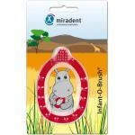 MIRADENT Kinder-Lernzahnbürste Infant-O-Brush rot 1 Stück