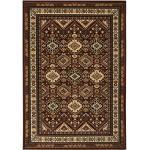 my home Teppich »Diantha«, rechteckig, 9 mm Höhe, Orient - Dekor, Wohnzimmer braun