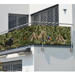 MyMaxxi - Balkon Sichtschutz Jungle 7 x 0,9m Abdeckung für Terrasse Balkon Windschutz Sonnenschutz Blickdicht Balkonverkleidung wetterfest Sichtschutz Zaun Verkleidung
