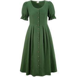 Naber Collection Trachtenkleid, mit luftigen Puffärmeln grün
