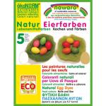 ökoNORM nawaro Eierfarben zum Selberfärben, 5 Farben