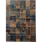 Oriental Weavers Teppich »Idfu«, rechteckig, 8 mm Höhe, Orient-Optik, Wohnzimmer blau