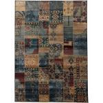 Orientteppich, »Idfu«, Oriental Weavers, rechteckig, Höhe 8 mm, maschinell gewebt blau