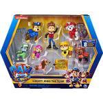 PAW PATROL 6063421, Geschenkset mit 8 Figuren aus dem Film und exklusiver Sammelfigur: Liberty kommt zum Team, Kinderspielzeug