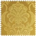 polstereibedarf-online AKTION Jacquard Ornament Möbelstoff Bellevue Ockergelb