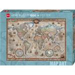 """Puzzle """"Retro World"""" von HEYE"""