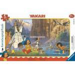 Ravensburger 15 T. Rahmenpuzzles - 5141 Yakari: Camping mit Freunden Ravensburger