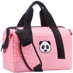 Reisenthel Kids Allrounder M Reisetasche 40 cm - panda dots pink