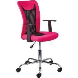 Schreibtischstuhl in Pink/