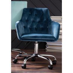 """Schreibtischstuhl """"Perry"""" blau"""