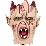 Screamstore Vampir Schädel Leuchtaugen mit Licht und Sound Halloween Deko