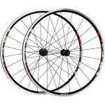 "Shimano WH-R501 Laufradsatz schwarz-rot 28"" Satz (VR + HR) Draht Shimano Rotor"