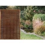 Sichtschutzzaun-Element Florenz 180 cm x 120 cm Braun