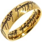 Schwarze Der Herr der Ringe  | The Lord of the Rings Herrenringe aus Chirurgenstahl