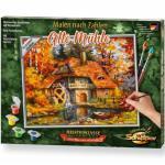Simba Schipper 609240799 609240799 Malen nach Zahlen - Alte Mühle, 24 x 30 cm