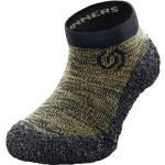 Skinners Kinder Line Socken (Größe 28, 29, Oliv)