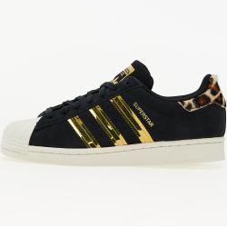 Sneaker adidas Superstar W Core Black/ Off White/ Gold Metalic