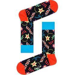 Socken mit Party-Motiv von Happy Socks in Rot für Herren