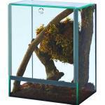 Spinnenterrarium mit Falltür 20x15x25 cm