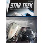 Star Trek Type-7 shuttle #7 from the U.S.S. Enterprise NCC-1701-D Eaglemoss + eng.